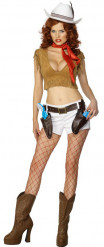 Sexy cowgirloutfit voor vrouwen