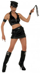 Outfit van een sexy motorrijdster voor vrouwen