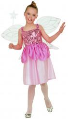 Feeën pak met vleugels voor meisjes