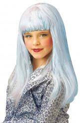 Lichtblauwe Danapruik voor meisjes