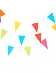 Veelkleurige vlaggenlijn slinger