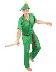 Groen boogschutter kostuum voor heren