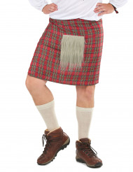 Geruite Schotse kilt voor volwassenen