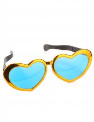 Reuze harten bril voor volwassenen