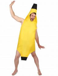 Bananen outfit voor volwassenen