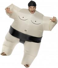 Volwassen opblaasbare sumo kostuum