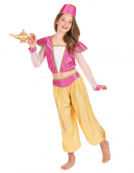 Luxe Oosterse danseres kostuum voor meisjes