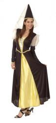 Middeleeuwse prinsessen kostuum voor vrouwen