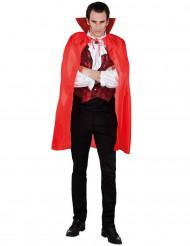 Rode vampierencape voor mannen Halloween