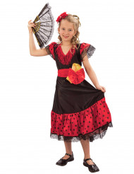 Traditioneel Spaans kostuum voor meisjes
