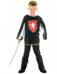 Groen leeuwen musketier kostuum voor jongens