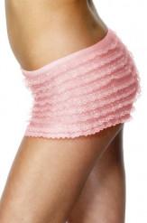 Roze kanten short voor vrouwen