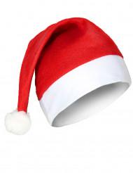 Soepele klassieke kerstmuts