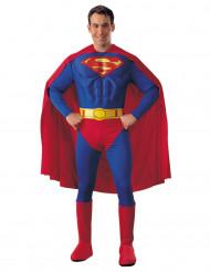Gespierd Superman™ kostuum met cape voor mannen