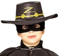 Zorro™ hoed voor kinderen