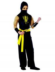Gespierd Ninjakostuum voor jongens