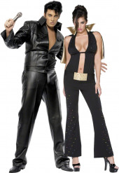 Vermomming als Elvis Presley™-koppel
