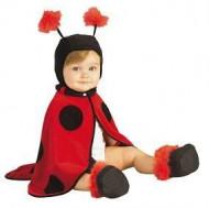 Klein lieveheersbeestje outfit voor baby