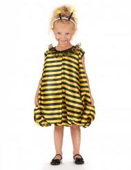 Gele en zwarte bijenjurk voor meisjes