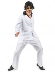 Witte disco kostuum voor heren