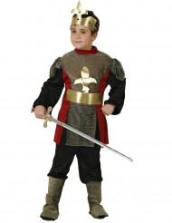 Middeleeuws koninklijke ridder outfit voor jongens