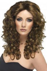 Glamourpruik met lange haren voor dames
