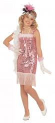 Roze cabaretvermomming als Marilyn voor meisjes