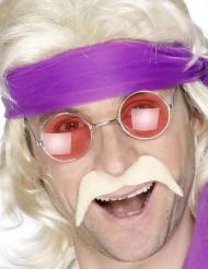Blonde snor