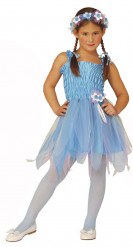 Blauw ballerinafeeënkostuum voor meisjes