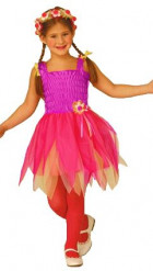 Paarse ballerina fee outfit voor meisjes