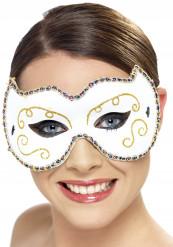 Wit kat masker voor vrouwen