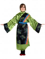 Groen Chinees meisjes kostuum