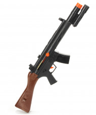 Soldatengeweer met geluid