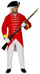 Engelse soldaten kostuum voor heren