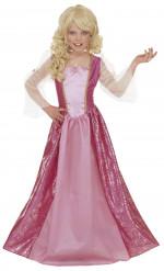 Chique prinses kostuum voor meisjes
