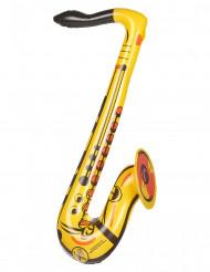 Opblaasbare gele saxofoon