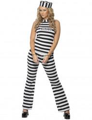 Gevangene kostuum voor dames