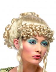 Blonde damespruik voor een Griekse godin