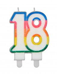 Verjaardagskaars cijfers