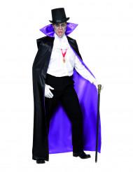 Omkeerbare cape voor een graaf voor volwassenen Halloween