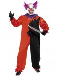 Enge clown kostuum voor volwassen