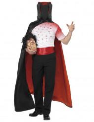 Vampier halloween kostuum zonder hoofd voor volwassenen