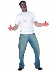 Verkleedkostuum voor volwassenen neergestoken persoon Halloween kleding