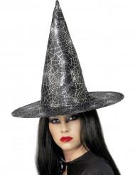 Halloweenheksenhoed met spinnen voor vrouwen