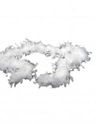 Witte boa 100cm