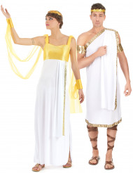 Griekse koppel kostuum voor volwassenen
