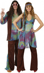 Kostuum hippiekoppel