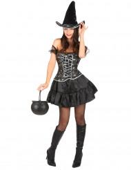Sexy heks kostuum voor vrouwen