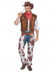 Cowboy western kostuum voor mannen