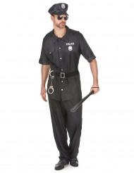 Politie agent kostuum voor heren
